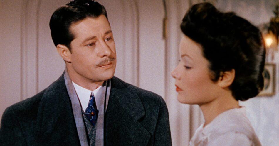 """Don Ameche i Gene Tierney w filmie """"Niebiosa mogą zaczekać"""" (reż. Ernst Lubitsch, 1943)"""