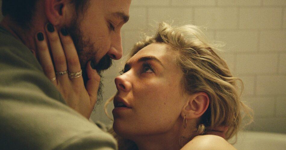 """Shia LaBeouf i Vanessa Kirby w filmie """"Cząstki kobiety"""" (reż. Kornél Mundruczó, 2020)"""