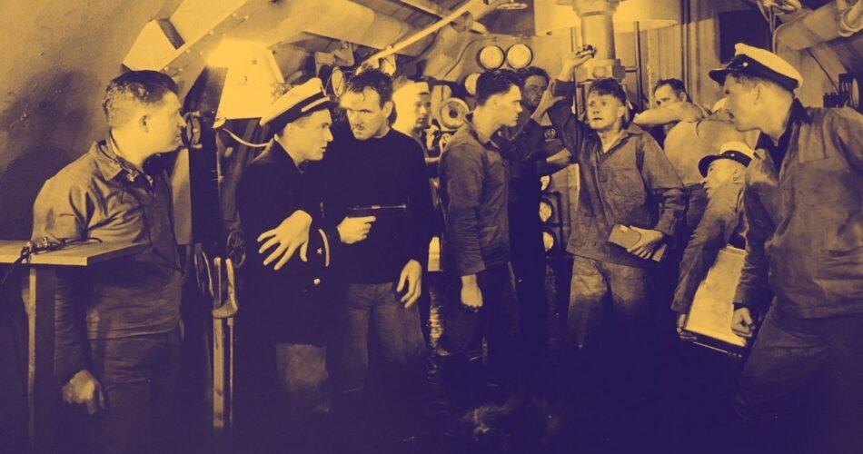 """Frank Albertson w filmie """"Mężczyźni bez kobiet"""" (reż. John Ford, 1930)"""