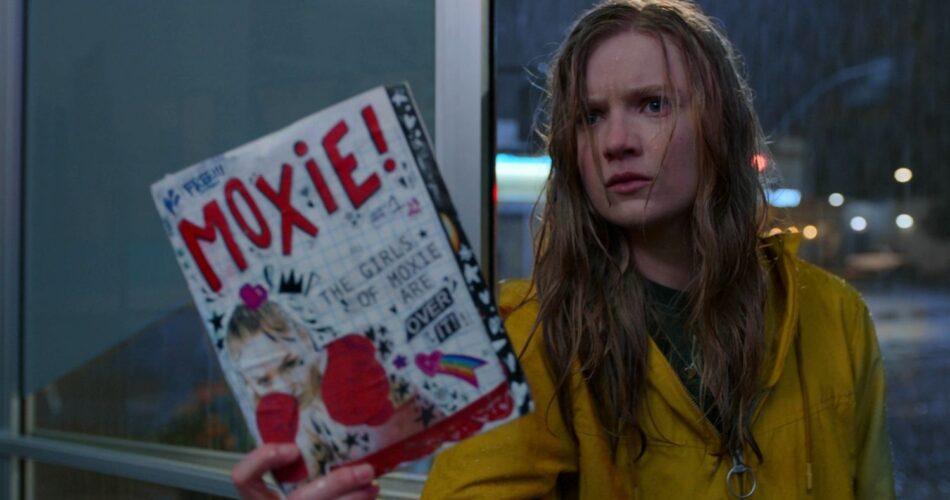 """Hadley Robinson w filmie """"Moxie"""" (reż. Amy Poehler, 2021)"""