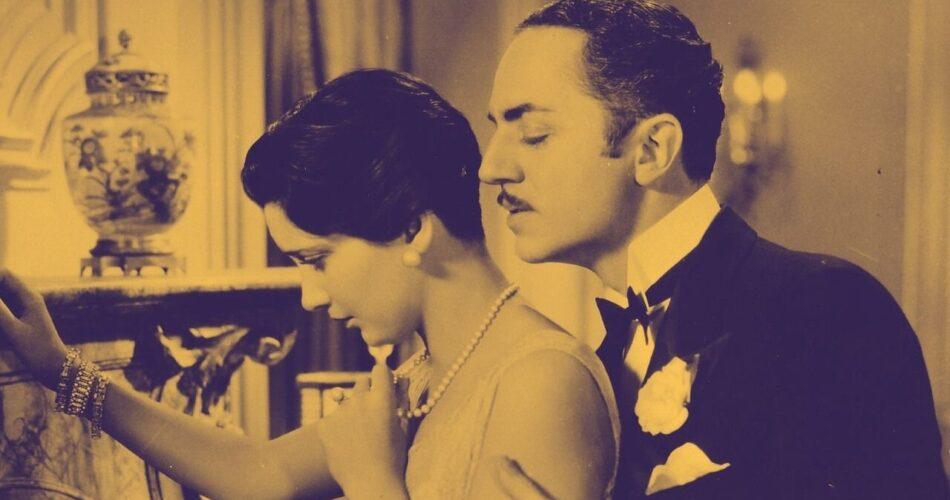 """Kay Francis i William Powell w filmie """"Ulica straconych szans"""" (reż. John Cromwell, 1930)"""