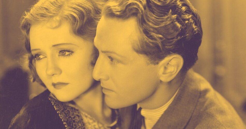 """Nancy Carroll i Phillips Holmes w filmie """"Diabelskie wakacje"""" (reż. Edmund Goulding, 1930)"""