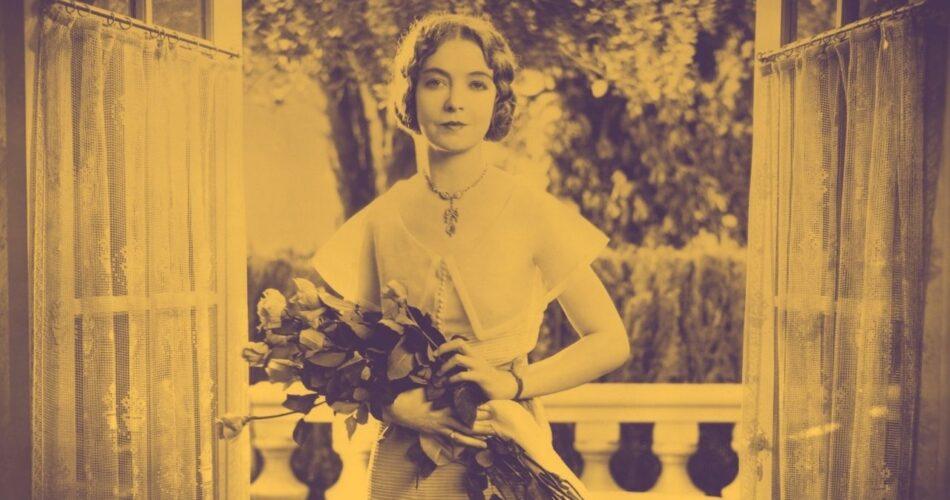 """Lillian Gish w filmie """"Romantyczna noc"""" (reż. Paul L. Stein, 1930)"""