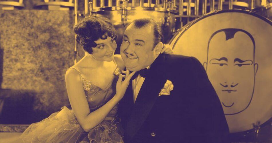 "Jeanie Lang i Paul Whiteman w filmie ""Król jazzu"" (reż. John Murray Anderson, 1930)"